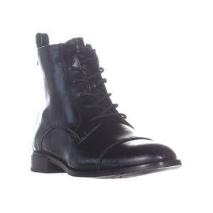 Calvin Klein Women's Black Adriene Combat Boot 7.5